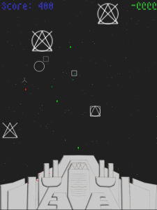 Those Stupid Aliens Screenshot (LD48 version)